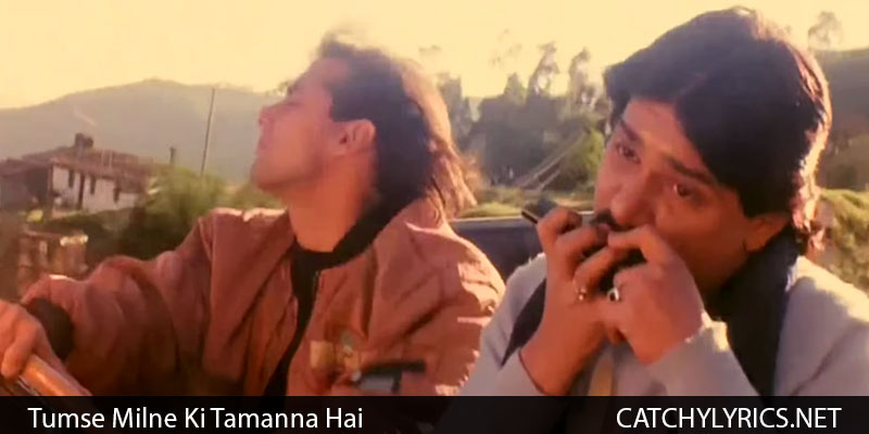 Tume Milne Ki Tamanna Hai Song Lyrics – Saajan 1991 images