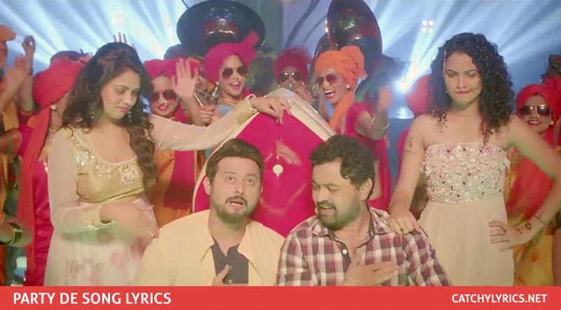 Party De Lyrics – Fugay Marathi Song – Amitraj images