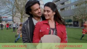 CHOGADA LYRICS – Loveratri – Darshan Raval image