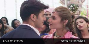 LEJA RE LYRICS – Dhvani Bhanushali image