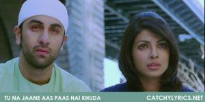 Tu Na Jaane Aas Paas Hai Khuda Song Lyrics – Anjaana Anjaani image