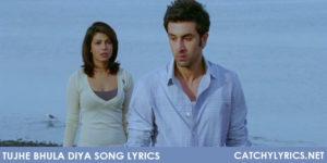 Tujhe Bhula Diya Song Lyrics – Anjaana Anjaani image