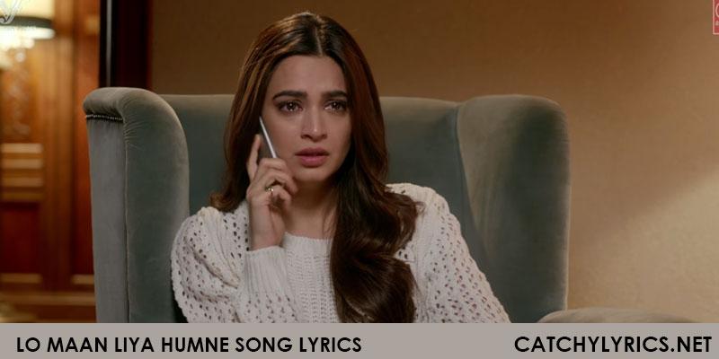 Lo Maan Liya Humne Lyrics – Raaz Reboot Song – Arijit Singh images