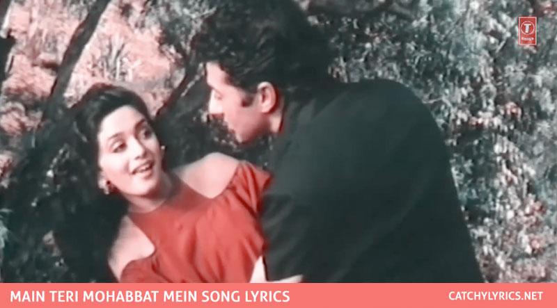 Main Teri Mohabbat Mein Lyrics – Tridev – Sunny Deol & Madhuri images